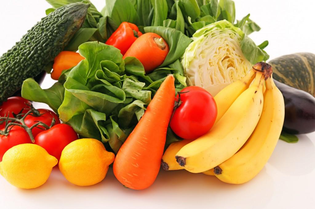 アンチエイジング 野菜と果物